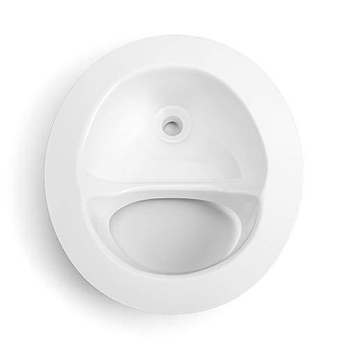 Kildwick Klassic Urin Separator Diverter Trenneinsatz für Komposttoiletten weiß