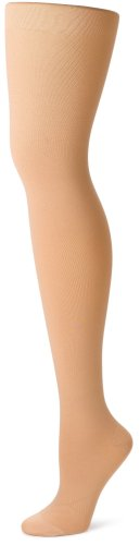 Futuro Beyond Support Pantyhose, Large, Nude, Firm, Full-Cut Panty, 1 Pair