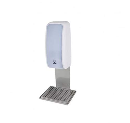 Blanc HYGENIC Desinfektions-Spender • Berührungslos mit Sensor • Inkl. 3X 1 Liter Haut-Desinfektionsmittel • Mit Auffangschale • Weiß