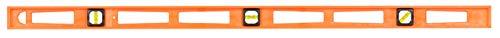 "Johnson Level & Tool 7748-O 48"" Glo Structo Cast Level - 3 Vial, Orange"