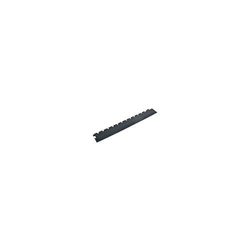 Auffahrrampe, Set mit 4 Stück – mit Eckelement – schwarz – Zubehör Caillebotis Auffahrrampe Auffahrrampe Bodenmatte Zubehör Sitzerhöhung für LKW