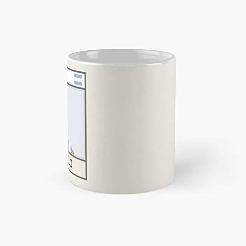 Manu Ginóbili - Taza clásica ARG | Mejor regalo divertido tazas de café 11 oz