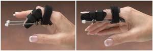 North Coast Medical Static Prog. PIP Finger Ext. Splint, Size: Sm