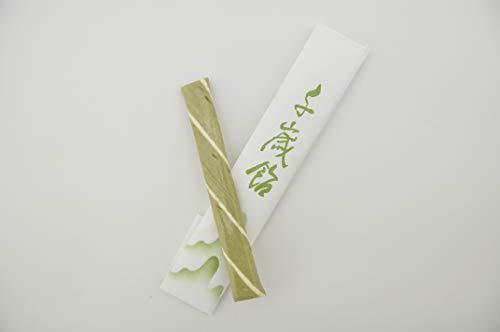 七五三 千歳飴 1本 (透明個包装袋)緑色 宇治抹茶