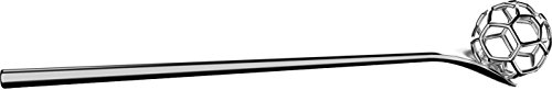 Alessi Acacia Honiglöffel MMI28 - Edelstahl poliert, Silber, 3.5 x 17.5 x 8.5 cm