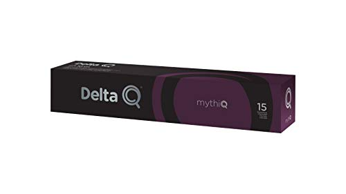 Delta Q - Mythiq Cápsulas De Café - Intensidad Muy Alta - 10 Cápsulas 55 g