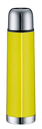 alfi 5457.278.075 Isolierflasche IsoTherm Eco, Edelstahl Apfelgrün, 0,75 Liter, Drehverschluss, 12 Stunden heiß, 24 Stunden kalt, BPA-Free