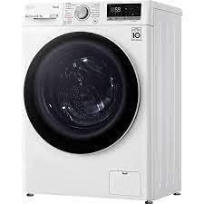LG V5WD85SLIM Waschtrockner - 8.5 kg Waschen / 5 kg Trocknen - Dampf-Funktion, Weiß, 1200 U/Min