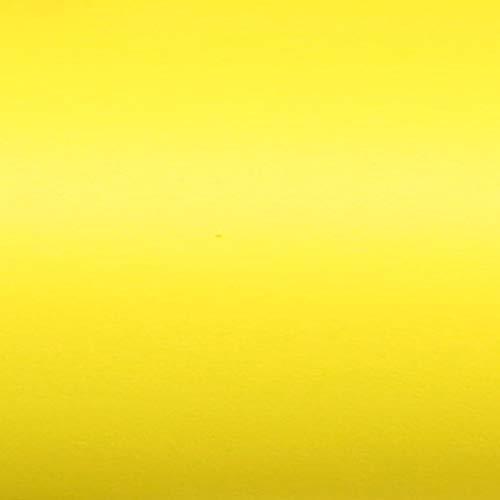 TipTopCarbon 9,99€/m² Möbelfolie Gelb Matt Klebefolie 2m x 60cm Selbstklebende Plotterfolie Matte