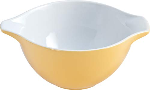 Pyrex Ceramic Bowl, Ceramic, Yellow, 0.5 L