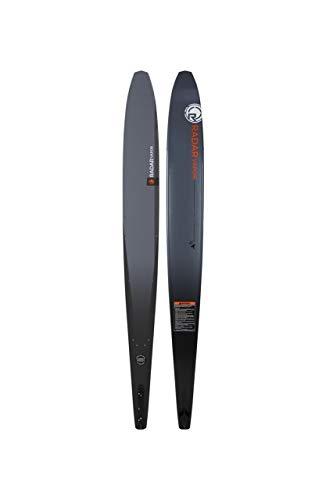 Radar Graphite Vapor 66' Slalom Waterski - Slate Grey/Orange