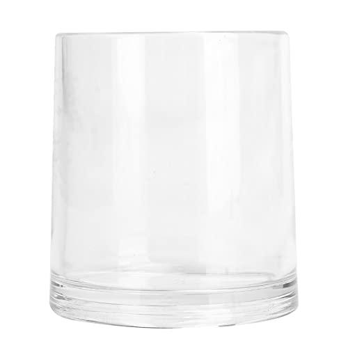 SALUTUY Vaso para Beber, Taza De Acrílico Suave Y Fácil De Limpiar, Acrílico Grueso Reutilizable para Piscina, Barco, Camping, Picnic, Senderismo para Hoteles, Restaurantes(Color Transparente)