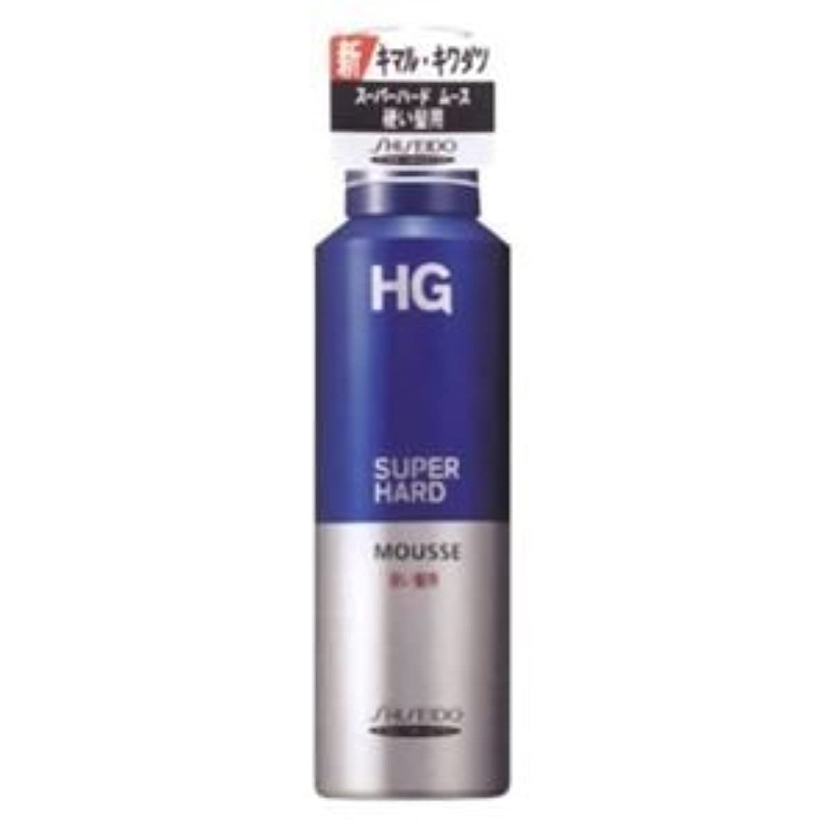 縞模様の赤字類似性HG スーパーハードムース 硬い髪用