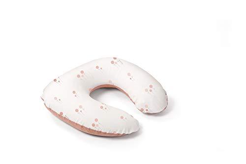 Doomoo Almohada de lactancia compacta Softy – Multifuncional almohada de maternidad para madre y bebé – Almohada cómoda para dormir, lactancia y apoyo – Complemento versátil para la maternidad
