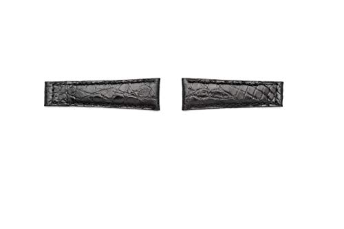 Cinturino spezzoni Vero alligatore compatibile per Rolex GMT/Daytona/Oyster...