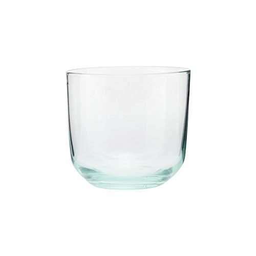 House Doctor 209400103 Ganz Verre à eau Vert Hauteur 8 cm Diamètre 9 cm 330 ml