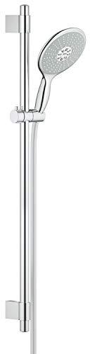 GROHE Power & Soul 160 | Brausestangenset | 900mm, 4+ Strahlarten, VARIABLE BOHRLÖCHER zur Befestigung | chrom | 27750000