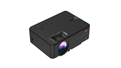 Suzec RD-813 Smart Android Pro Full Real HD 1280p Modulated at 720p Base | 2000 Lumen with 120 inch Large Display LED Projector | VGA, AV, HDMI, USB, SD Card, Audio Out Connectivity | 2021 Release
