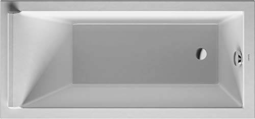 "Bathtub Starck 59"" x 27 1/2"", white, built-in"