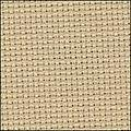 """Zweigart 14ct Aida-18x21"""" Needlework Fabric - Beige"""