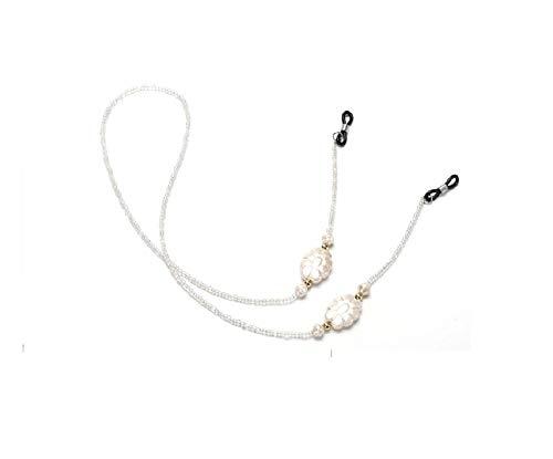 2019 metalen koord voor bril riem Gouden, Wit Mode mannen vrouwen zonnebril ketting