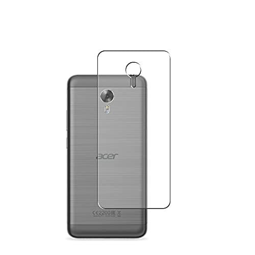 Vaxson 2 Stück Rückseite Schutzfolie, kompatibel mit Acer Liquid Z6E, Backcover Skin TPU Folie [nicht Panzerglas/nicht Front Bildschirmschutzfolie]