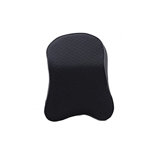 PUGONGYING Popular 1X Car Neck Pillow Head Restraint 3D Memory Foam Auto Headrest Travel Pillow Neck Support Holder Seat Covers Car Styling durable (Color : BLACK)