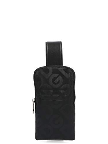 Luxury Fashion | Dolce E Gabbana Heren BP2576AJ690HNNDN Zwart Leer Schoudertassen | Lente-zomer 20