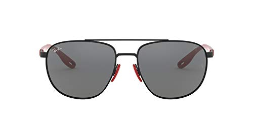 Ray-Ban 0RB3659M-F0026G-57 Gafas de lectura, Matte Black, 57 Unisex Adulto