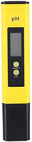 Medidor de pH Digital Tester PH, Alta precisión Mini medidor de Agua Calidad PH PHIN 0-14 Rango de medición de pH para Acuario, Piscina, Agua Potable Casa