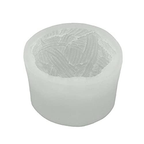 Molde de silicona Craft aromaterapia Molde la bola del hilado molde de la vela estéreo 3D para la fabricación de velas de aromaterapia vela Hacer kits Vela Moldes