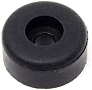 rubber bumper with unthreaded hole