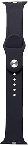1362-Pulseira de Silicone para Apple Watch 42mm Iwill Sport Black, iWill, Capa Anti-Impacto, Preta