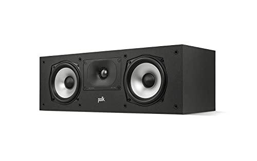 Polk Audio Monitor XT30 Center Lautsprecher, Hi-Res Zertifiziert, kompatibel mit Dolby Atmos und DTS:X (Stück)