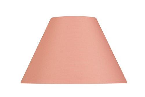 Oaks Lighting - Paralume in cotone, 30 cm, colore: rosa tenue