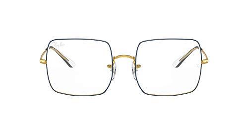 Ray-Ban VISTA 0RX1971V Gafas, Azul sobre oro leyenda, 51 Unisex Adulto