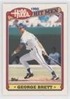 George Brett (Baseball Card) 1990 Topps Hills Hit Men - Box Set [Base] #10