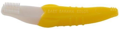 Baby Banana Bendable Training Toothbrush, Toddler by Baby Banana (English Manual)