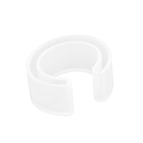 Fydun Molde de Pulsera de Bricolaje, Pulsera de Silicona Molde de fundición de Resina Brazalete Pulsera Herramienta de fabricación de moldes de joyería