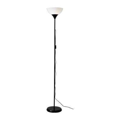 IKEA Not Deckenfluter In Schwarz; 175cm