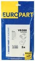 Europart Vb388 Sacs à poussière Nilfisk GM200 Canister, Lot de 5