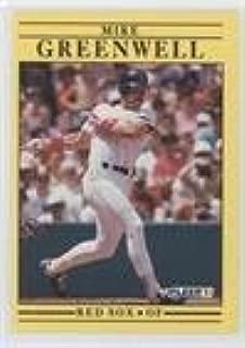 Mike Greenwell (Baseball Card) 1991 Fleer - [Base] #96.1