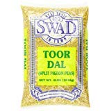 Swad Toor Dal Kori New popularity Unoily 4 PACK - OF Gorgeous 3 Pound