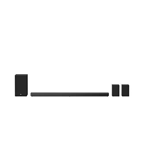 LG DSN11RG Smart Bluetooth-Soundbar 770 Watt mit Subwoofer [Kabellos] - Schwarz