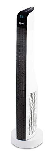 SUNTEC PTC-Heizlüfter Heat PTC Prime 2000 [Für Räume bis 60 m³ (~25 m²), 2 Heizstufen von 18°-30°C, Oszillation, Timer + Fernbedienung, 2000 Watt]