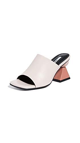Yuul Yie Women's Lowell Mules, Light Pink/Skin Pink/Rosy, 9 Medium US