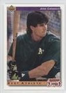 Jose Canseco (Baseball Card) 1992 Upper Deck - [Base] - Factory Set Gold Hologram #649