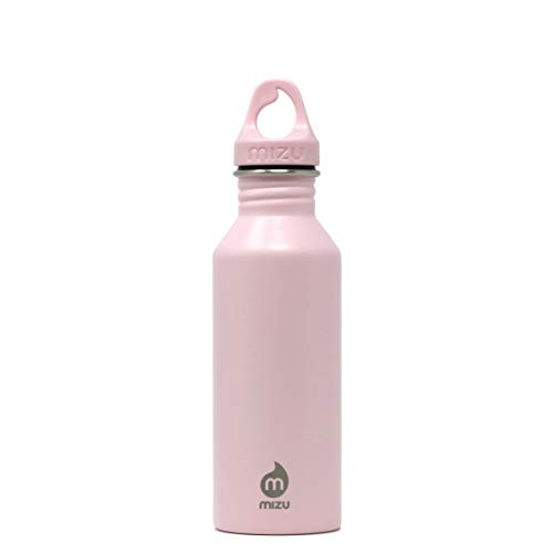 Mizu Unisex– Erwachsene M5 Trinkflasche, Soft Pink, One Size