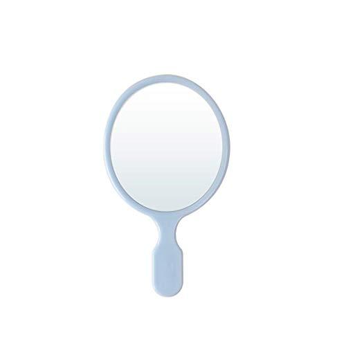 LSNLNN Espejos, Espejo Brillante Colores de Caramelo Espejo Pequeño, Creativo Encantador Espejo Portátil Pequeño Niño Diente Niño Espejo Redondo Espejo Pequeño Tamaño Maquillaje 16 X 9Cm Maquillaje Y