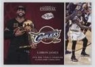 LeBron James #/252 (Trading Card) 2016-17 Panini Eternal - Online Exclusive [Base] #PE-LJ1